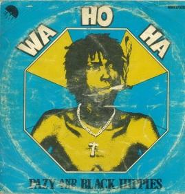 Pazy And The Black Hippies Wa Ho Ha Vinyl Cover
